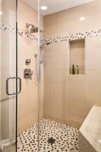 2nd floor addition hall bath