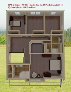 Model One Second Floor