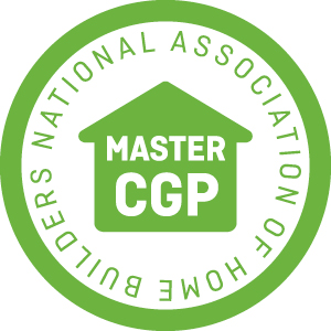 logo for Master certified green professional from NAHB