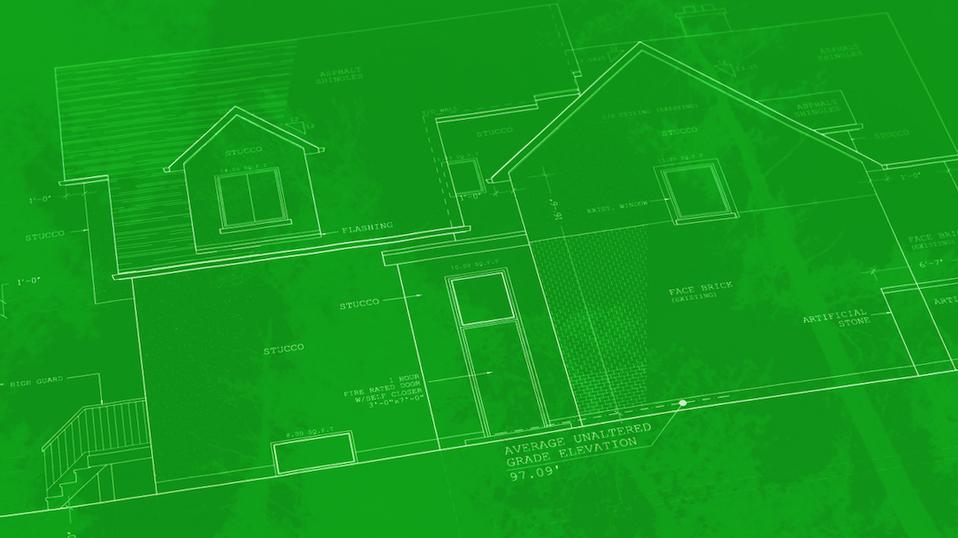 green blueprint