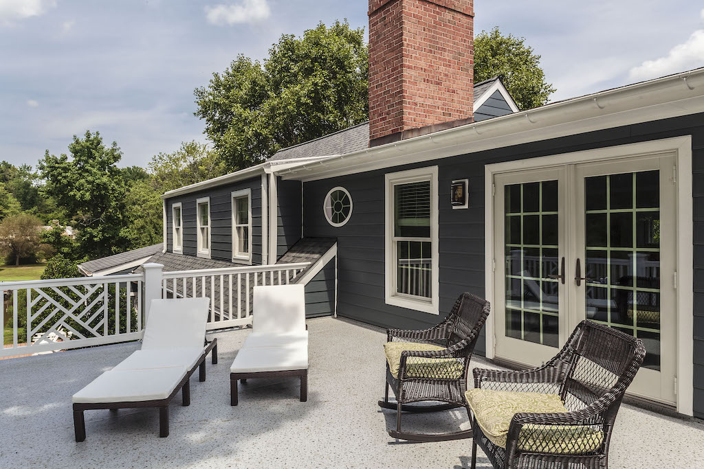 deck, another outdoor living space by T.W. Ellis