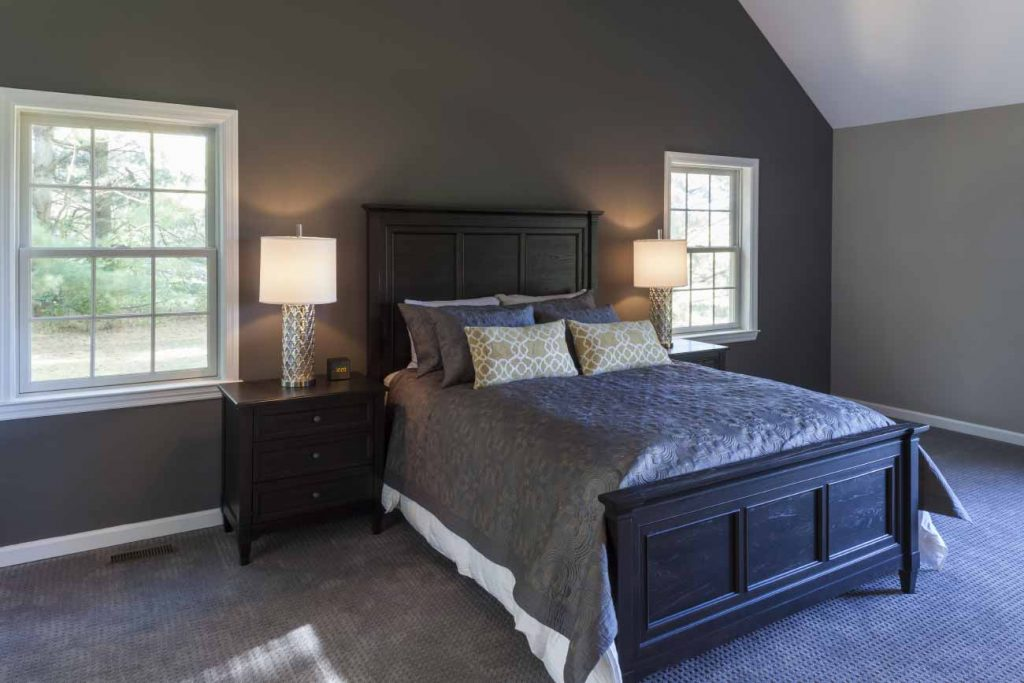 Master suite as part of a whole house addition